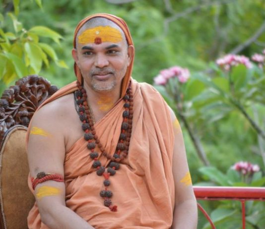 Swaamishreeh avimukteshwaraanandah स्वामिश्रीः अविमुक्तेश्वरानन्दः